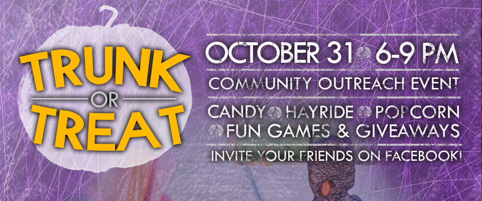 Trunk or Treat - Website Slide